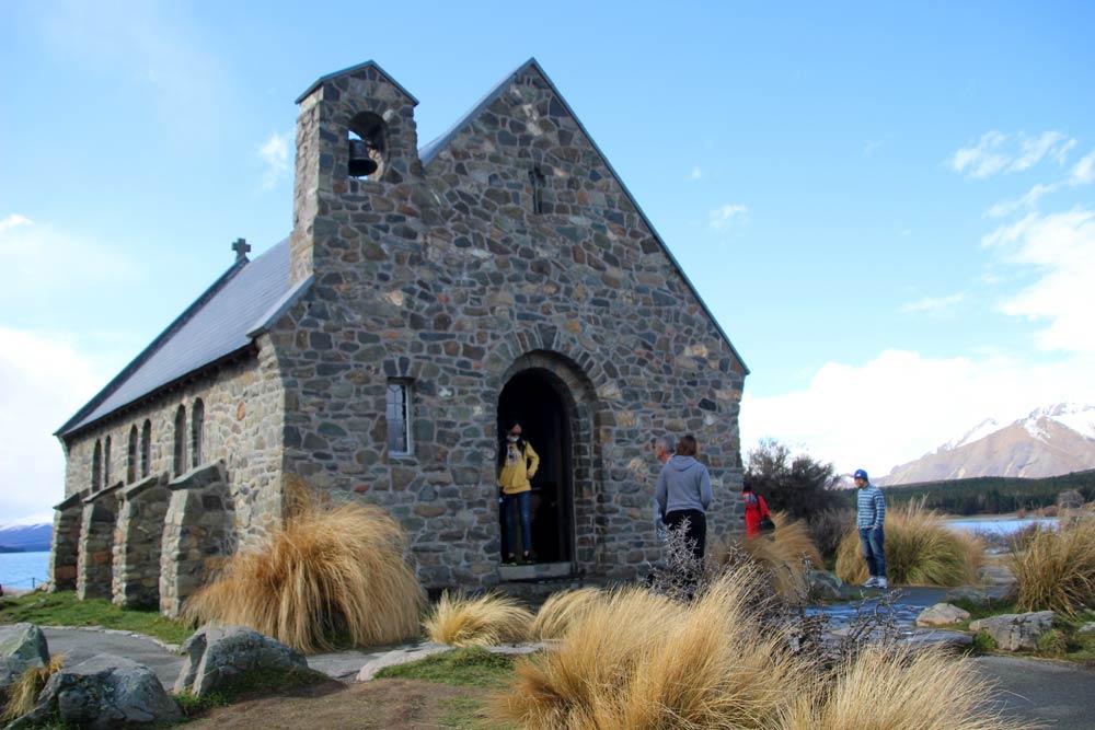 「善き羊飼いの教会」の中にも入れます(中の撮影はできない)