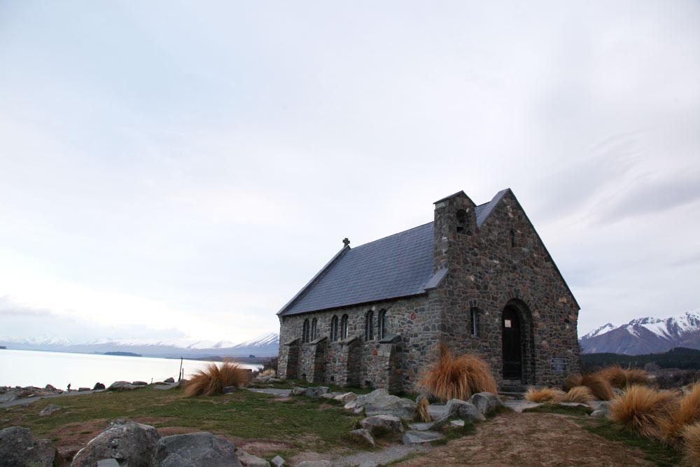 朝の善き羊飼いの教会