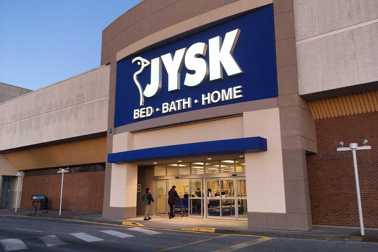 家具のお店「JYSK」
