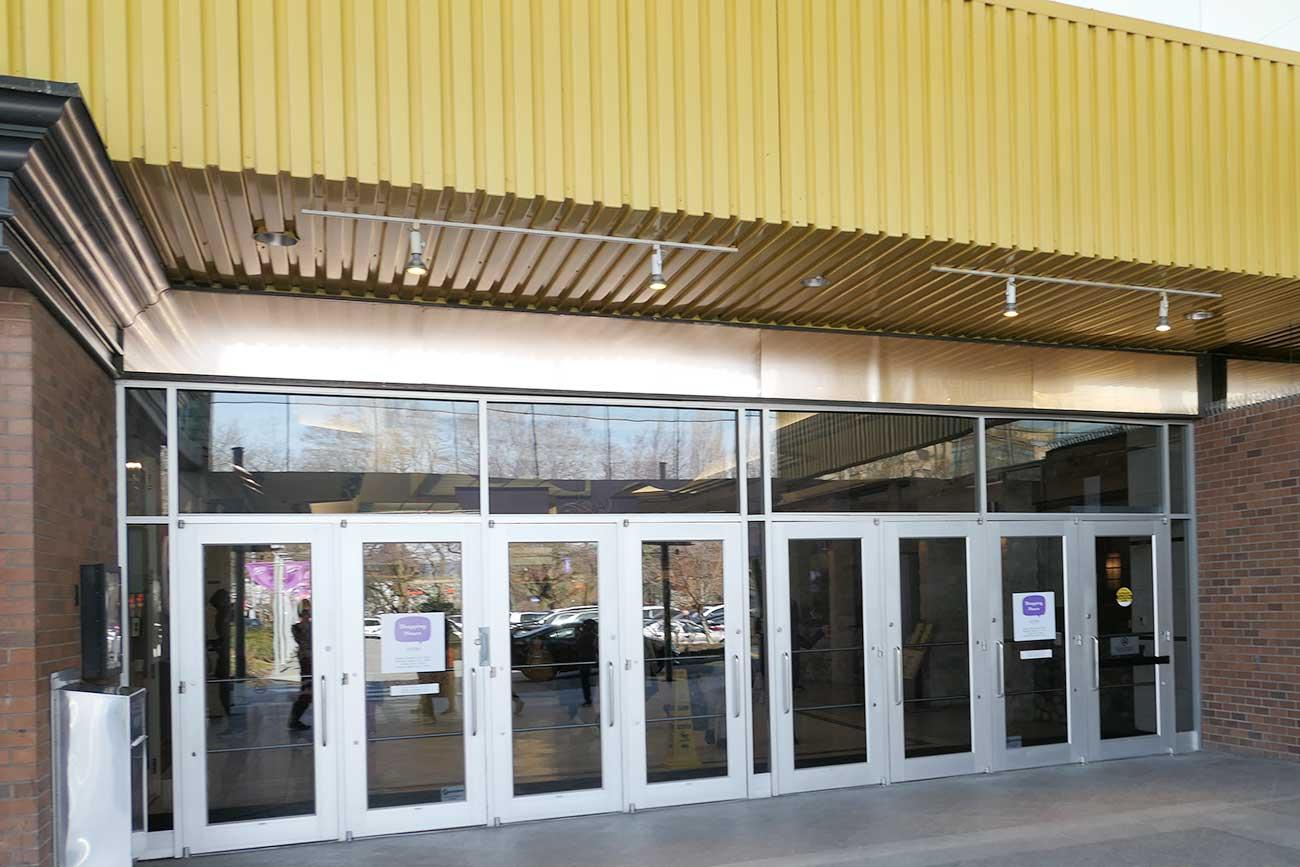ランズドーンセンターの入り口