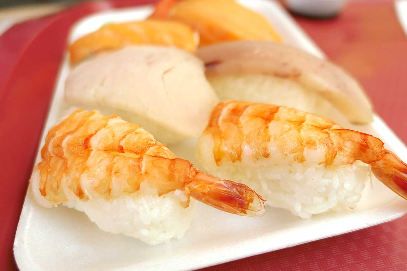 「将軍」の寿司