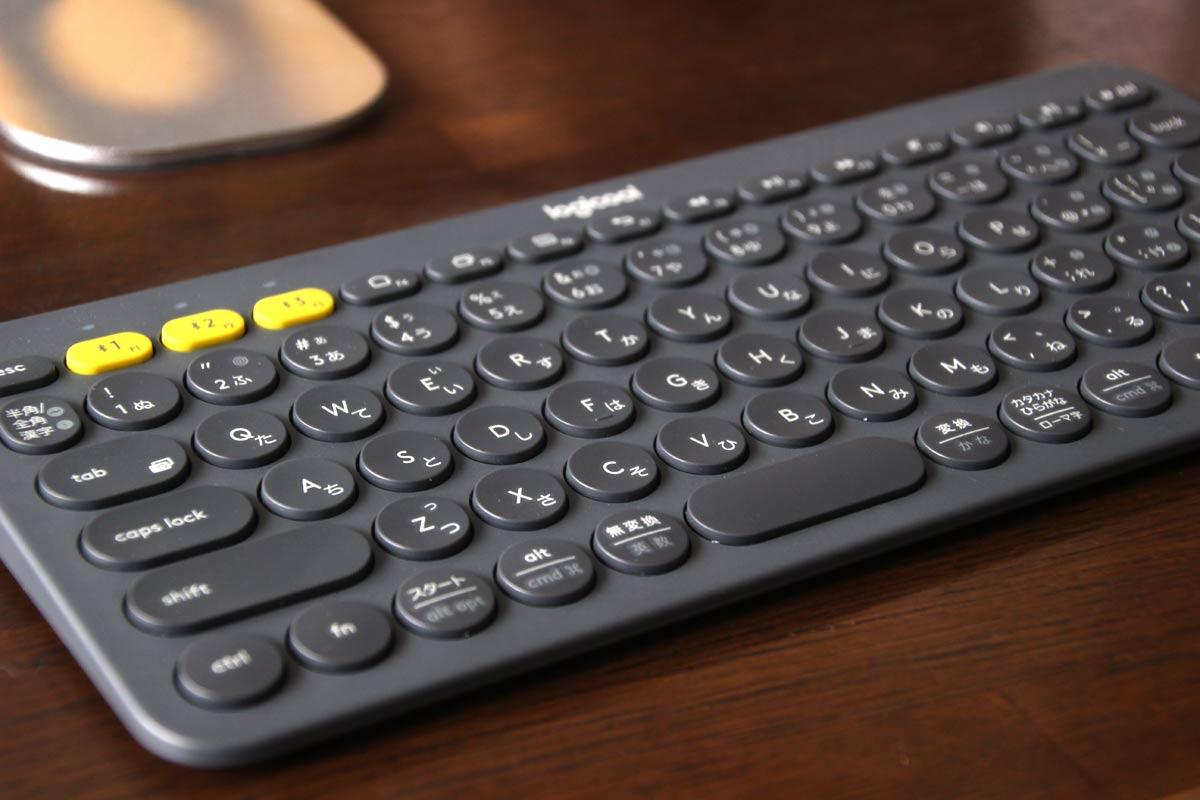 Logicoolのマルチデバイスキーボード「K380」
