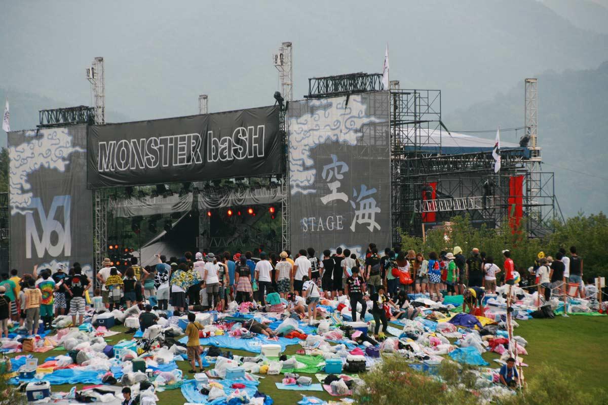 音楽イベント「モンスターバッシュ」は最大のイベント