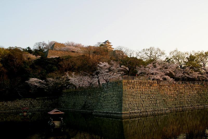 日本一の石垣と日本一の天守閣