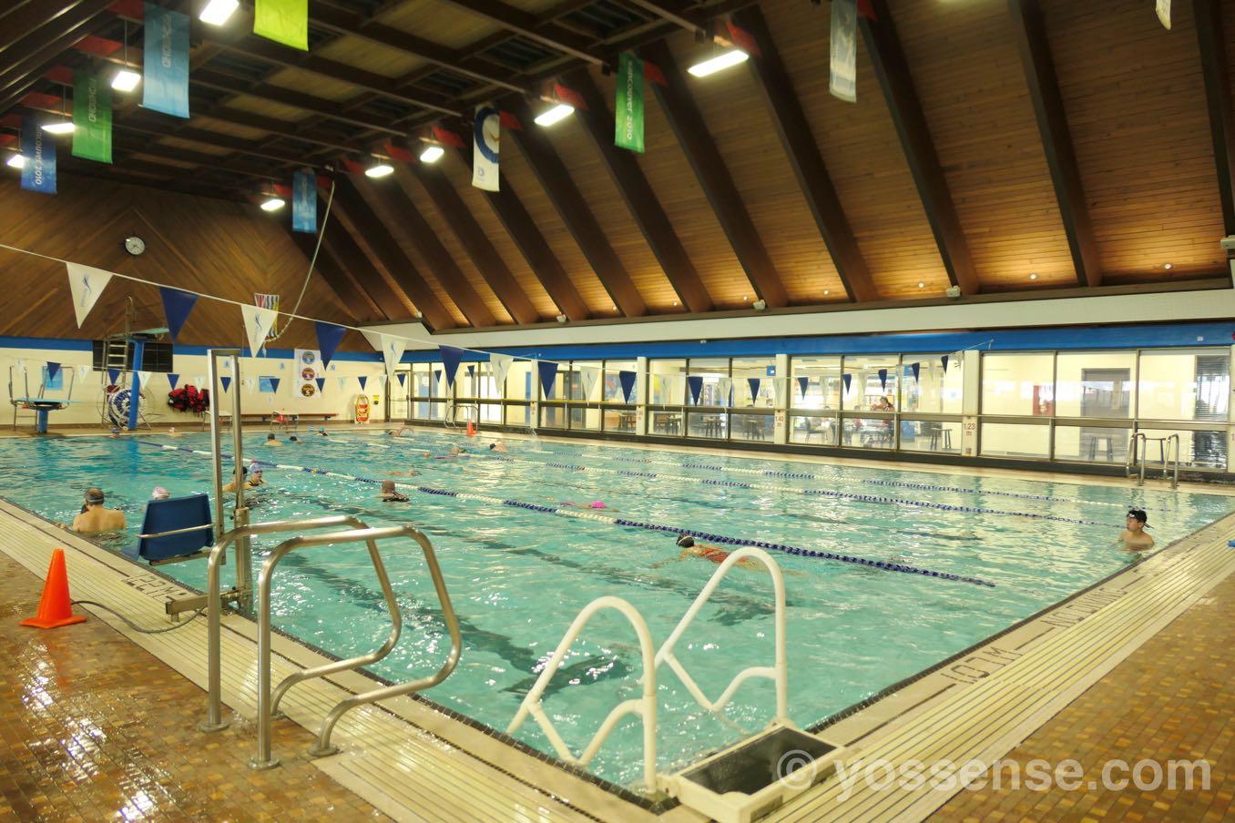 25メートルのプール