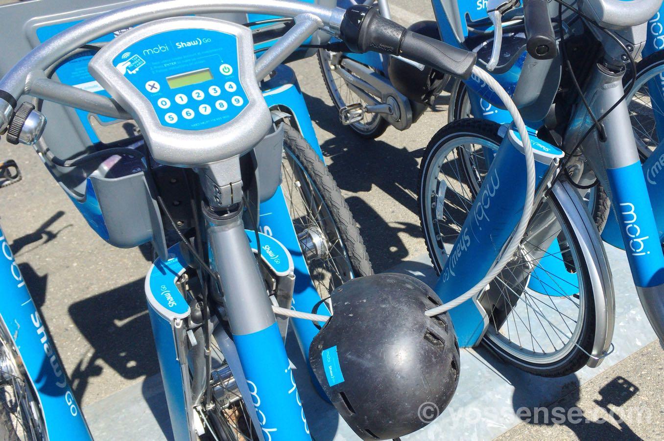 ヘルメットのあるものを選ぶ