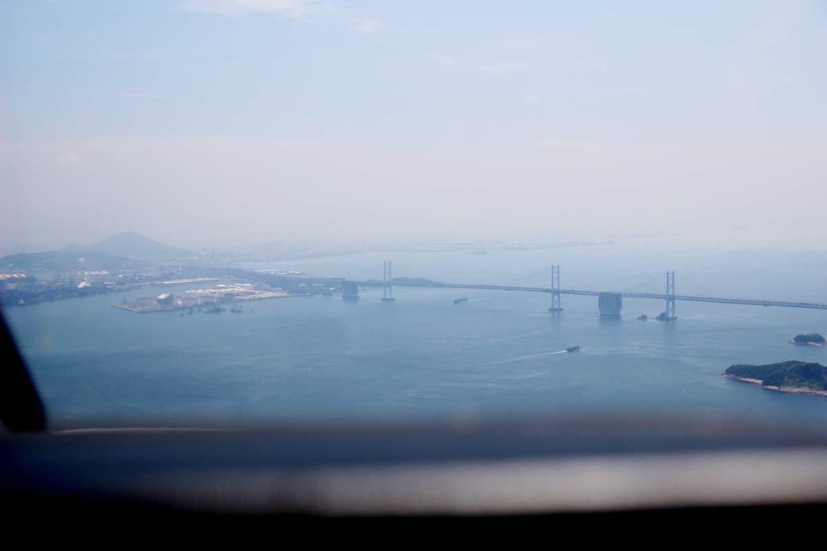 瀬戸大橋を見下ろして帰る
