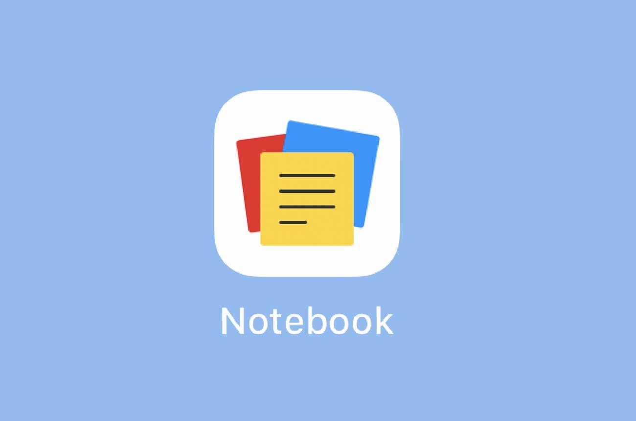 Notebookのアイコン