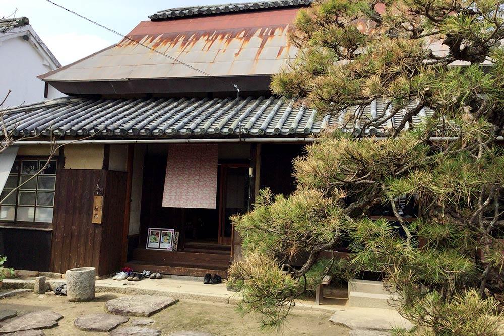 古民家カフェ「桜花」