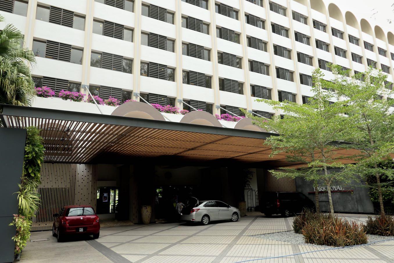 パークロイヤル ペナン リゾートの入り口