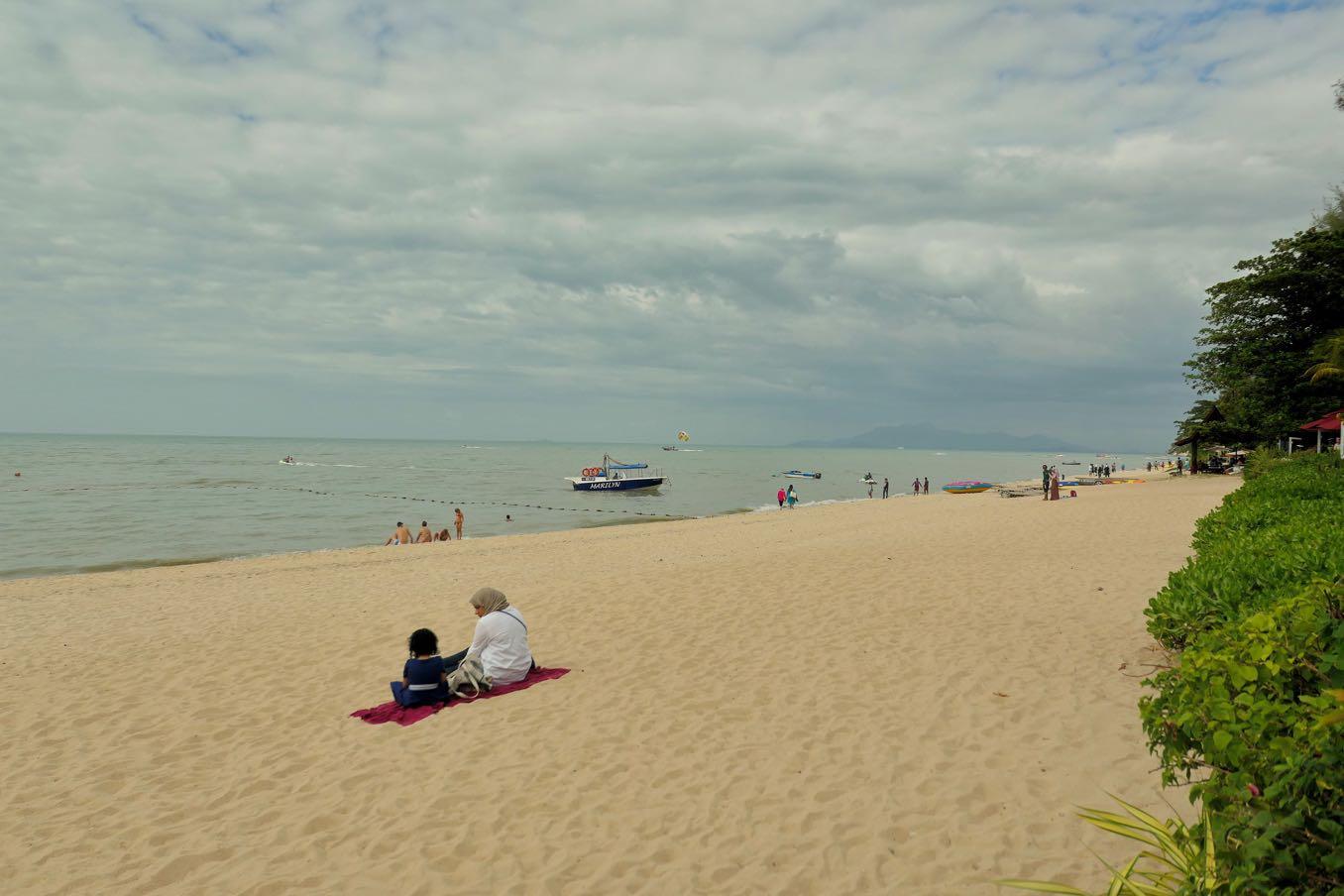 ペナンのビーチ