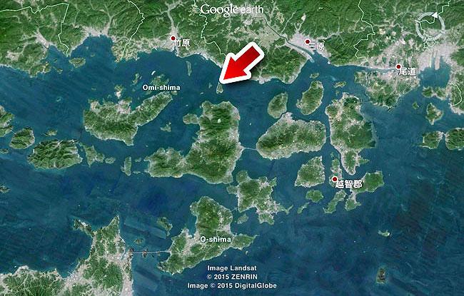 たくさんある瀬戸内海の島の中でも小さい島