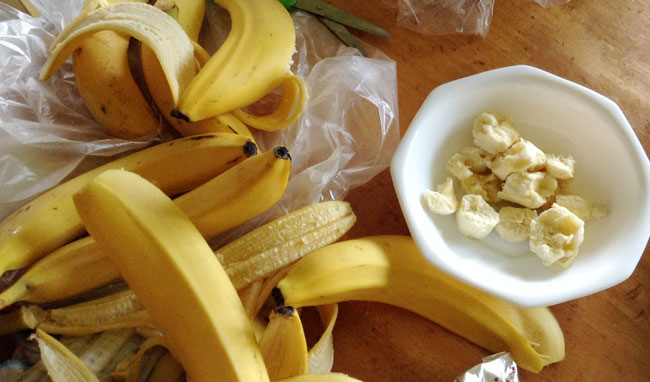 バナナが今回の主役