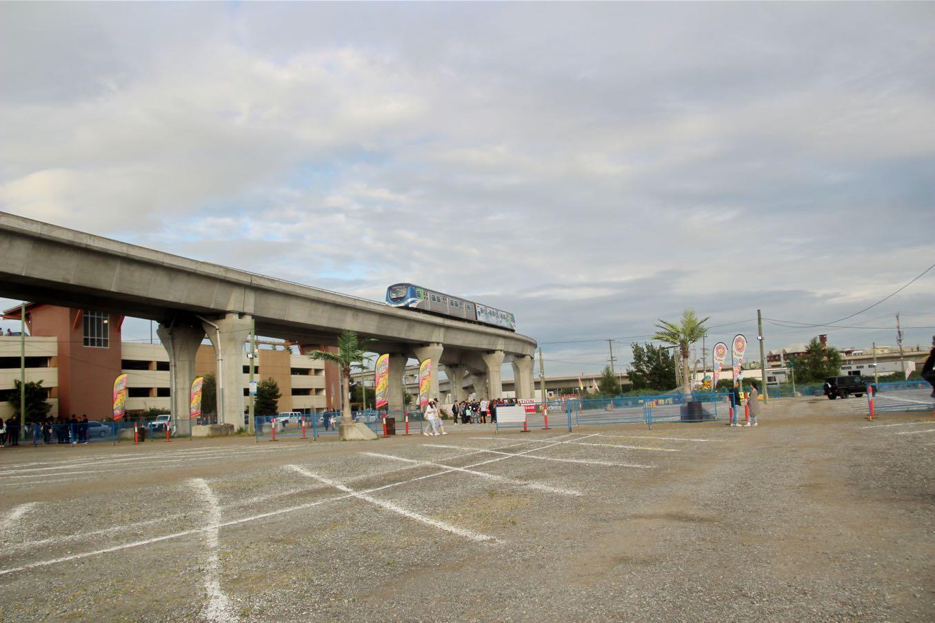 リッチモンドナイトマーケットの駐車場は広い
