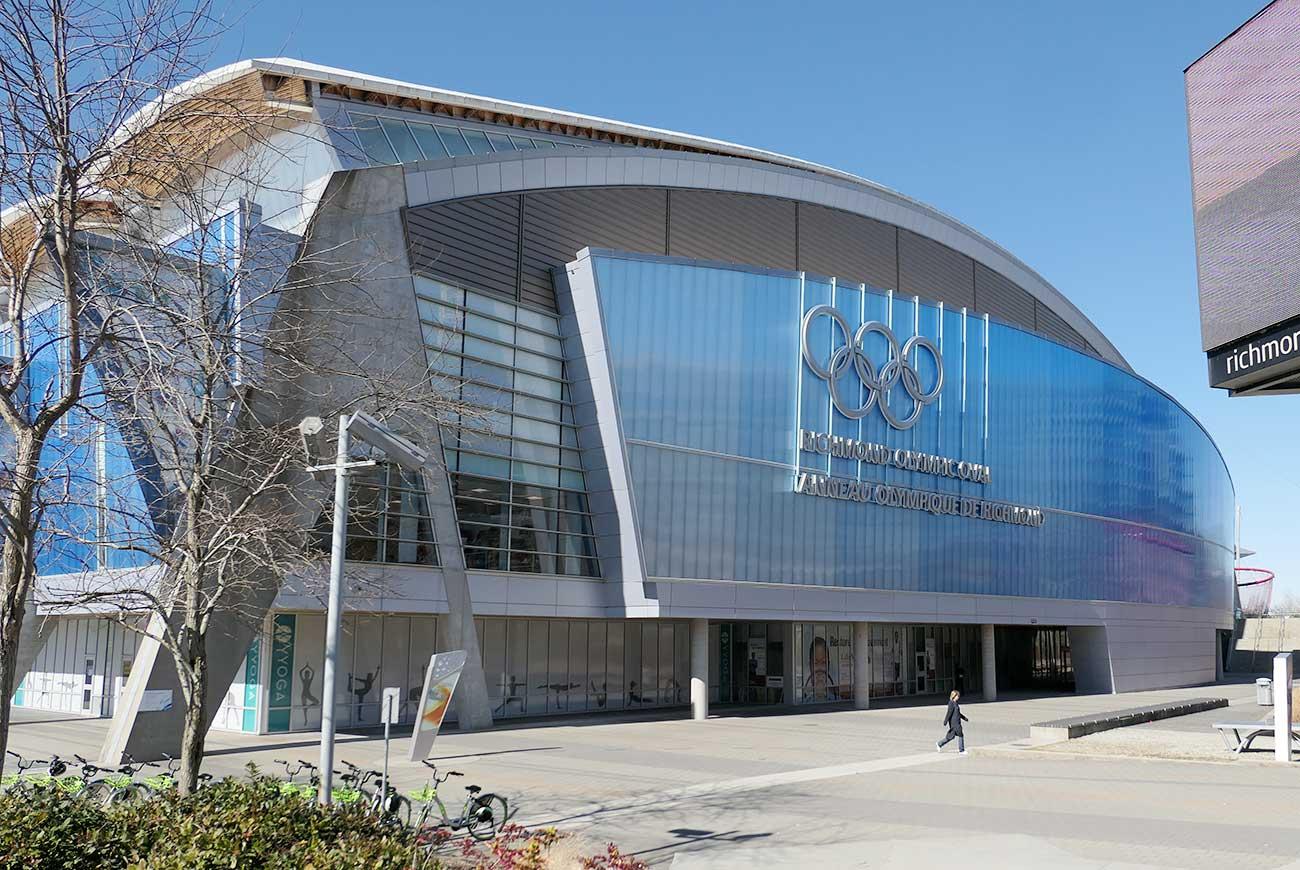 Richmond Olympic Oval(リッチモンド・オリンピック・オーバル)