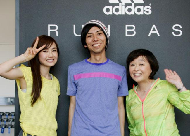 最後に湯田選手、増田選手と一緒に