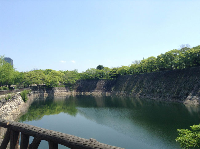 大阪城のマラソンコース(3.5km)