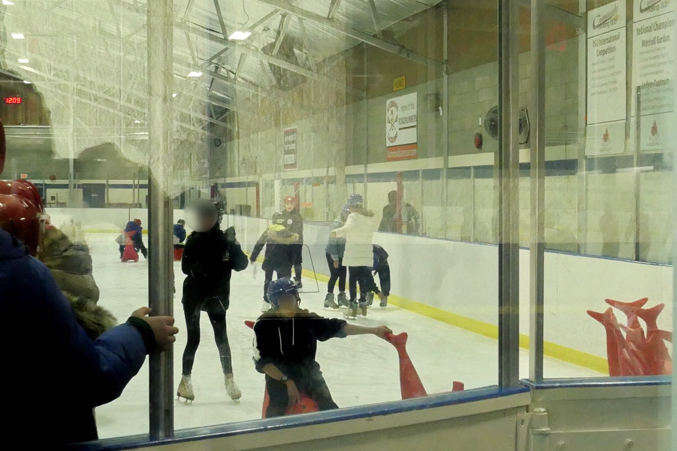 スケートの授業