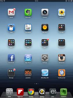 こちらはiPadのスクリーンショットの例