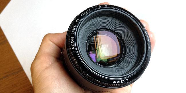 Canonの単焦点レンズ「EF50mm F1.8」が大好き