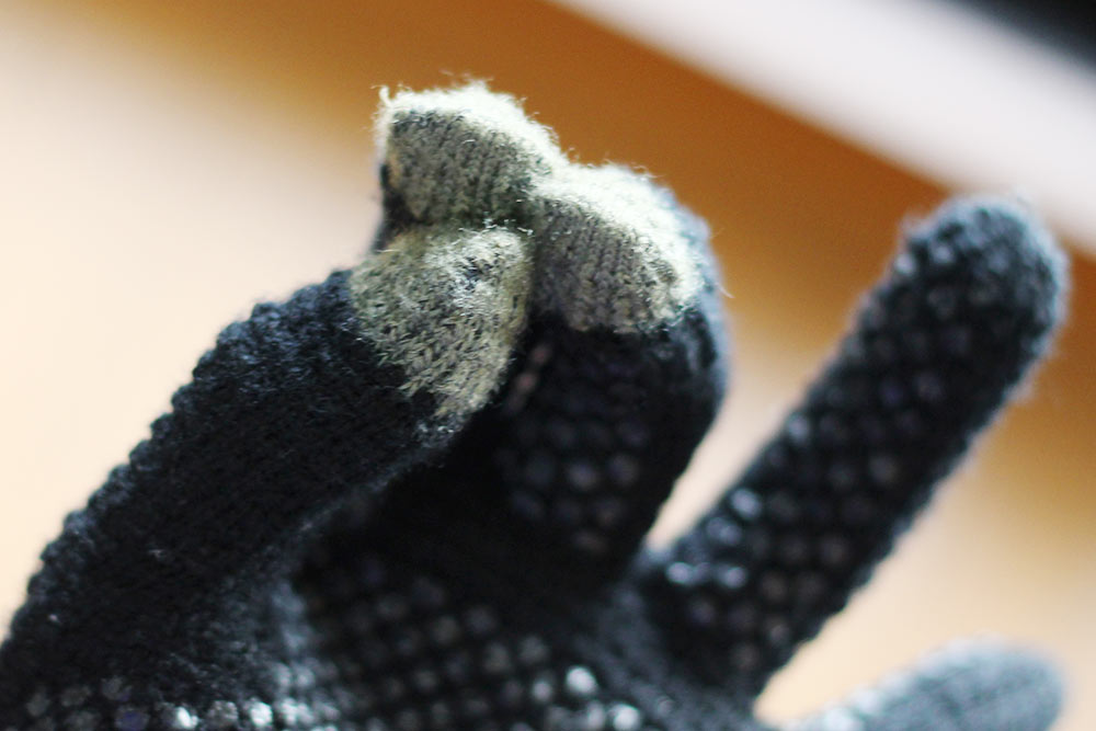 タッチパネルの反応の良さの秘密は指先にある