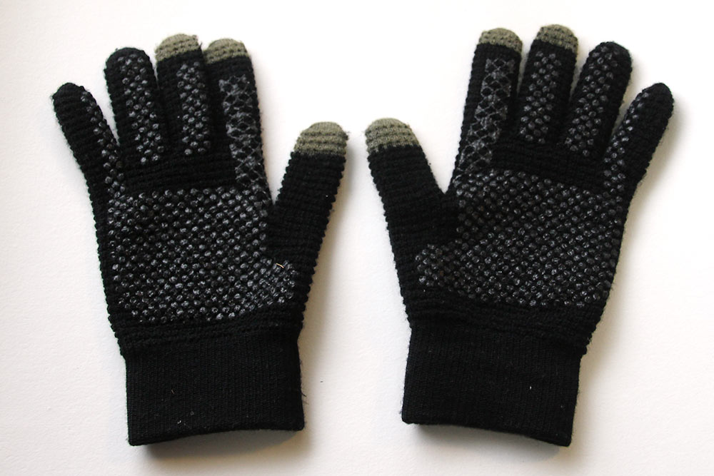 フリック入力手袋(黒)
