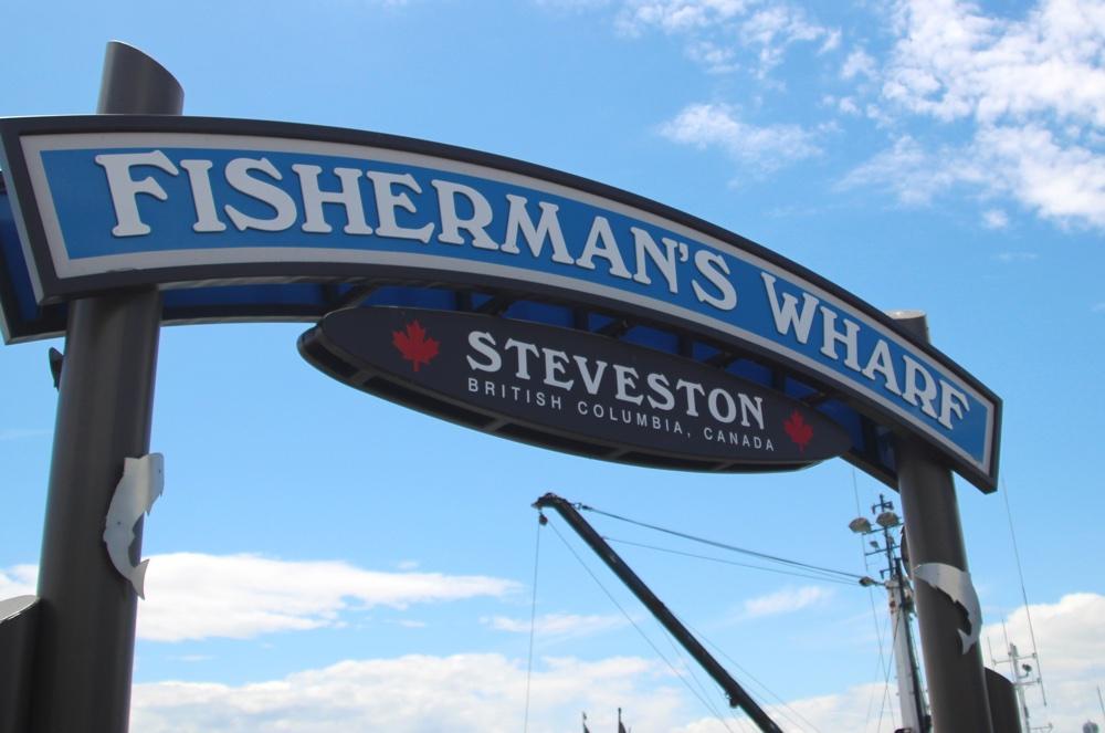 Fisherman's Wharf(フィッシャーマンズワーフ)」の入り口