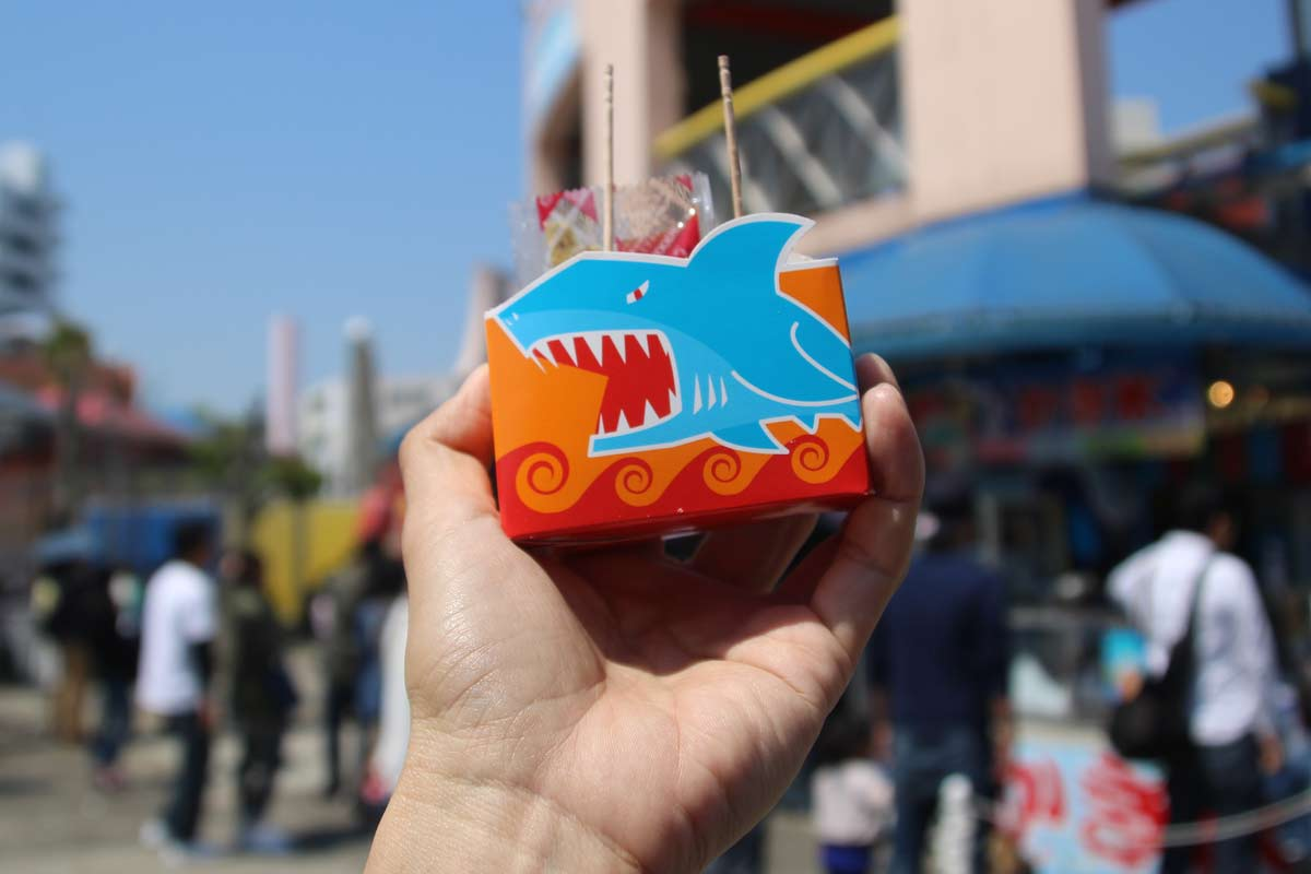 サメ肉を使った「シャークナゲット」