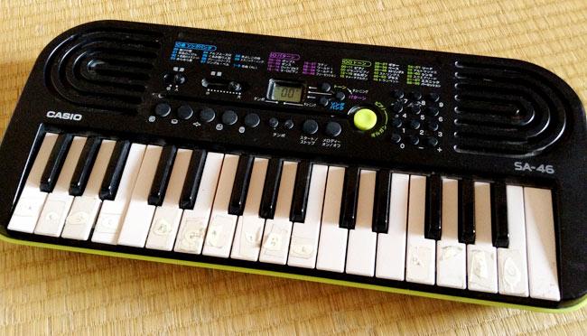 カシオ 電子ミニキーボード
