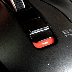 マウスポインタのスピードを2段階調整できるスイッチ