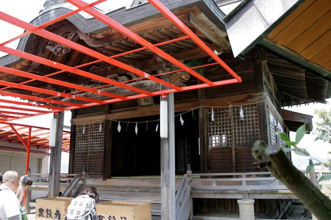 津嶋神社本殿です