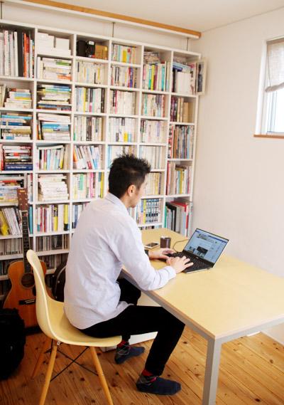 牛尾さんのオフィス(自宅)