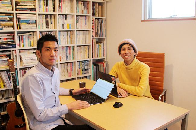 牛尾 隆さんとヨス