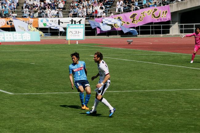 セレッソ大阪の元ウルグアイ代表のディエゴ・フォルラン選手をめっちゃ見てた(2010 FIFAワールドカップのMVP)