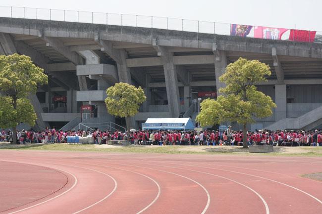「カマタマーレ讃岐」VS「セレッソ大阪」
