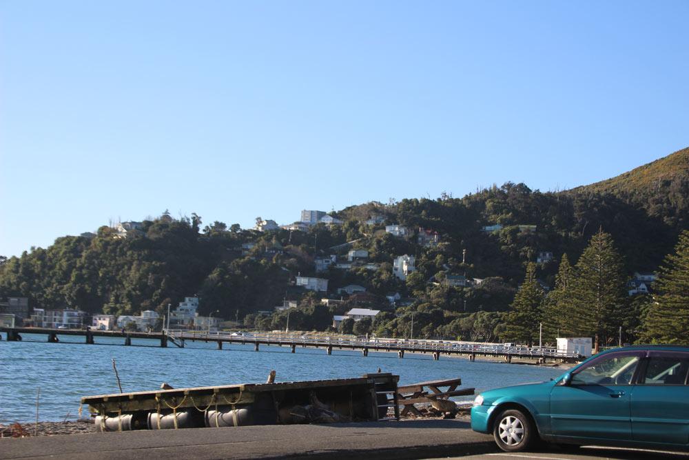 ニュージーランドの首都ウェリントン