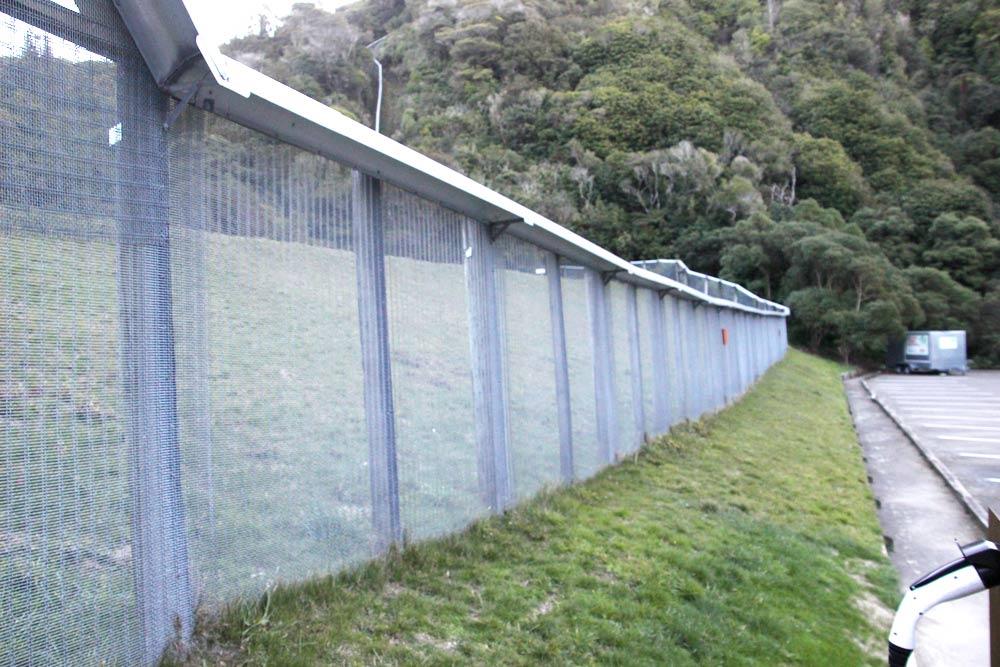 ZEALANDIAのフェンス