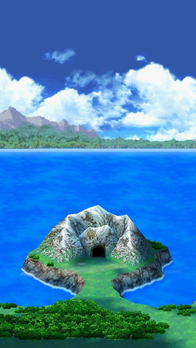 岩山がぶっ壊れ、洞窟にはいれるように