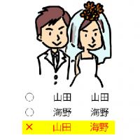 選択的夫婦別姓が日本で早く制定...