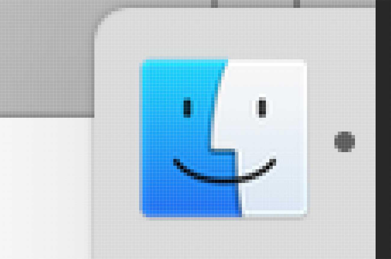 Macの「ファインダー」アイコン