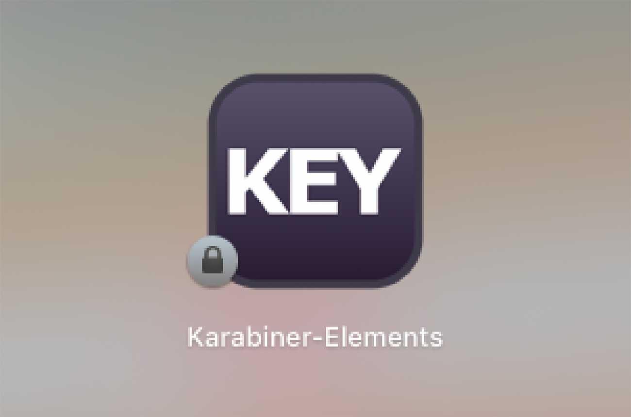 アプリ「Karabiner-Elements」のアイコン