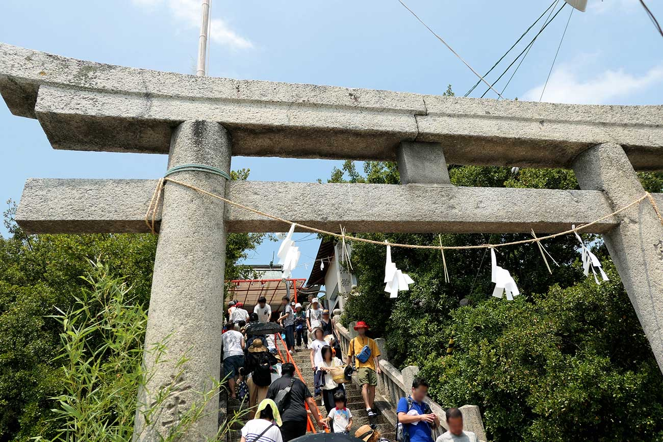津嶋神社の鳥居