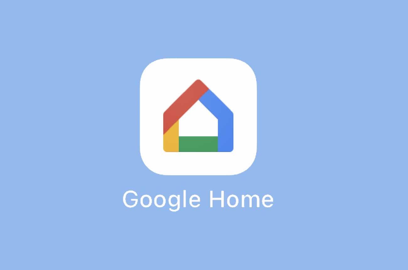 アプリ「Google Home」