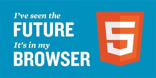 HTML5でマークアップしています