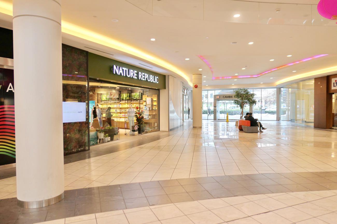 アバディーンセンターは地方の大型ショッピングモールみたい