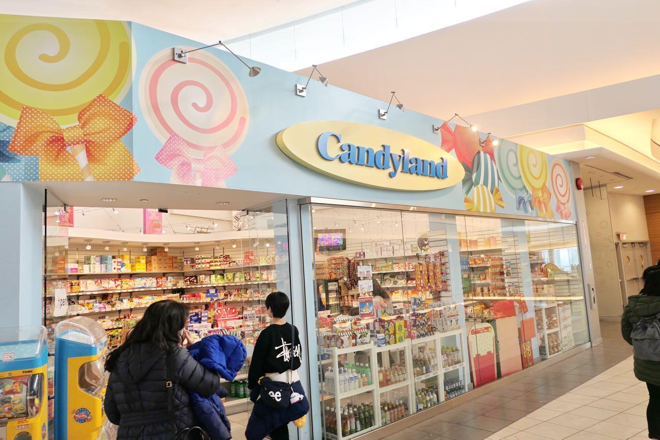 こんな子ども向けのキャンディショップもあります