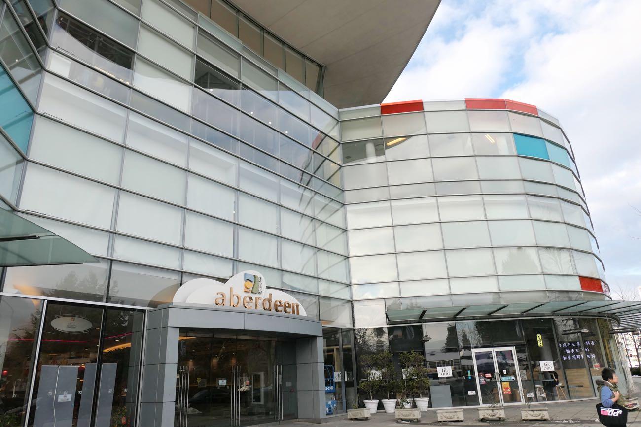 Aberdeen Centre(アバディーンセンター)の外観