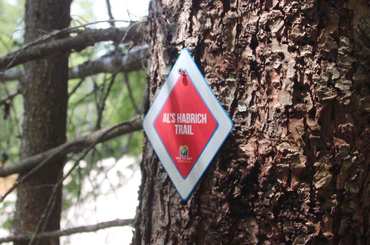 Al's Habrich Trailのマーク