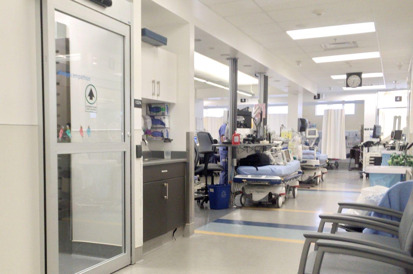 リッチモンド病院の中