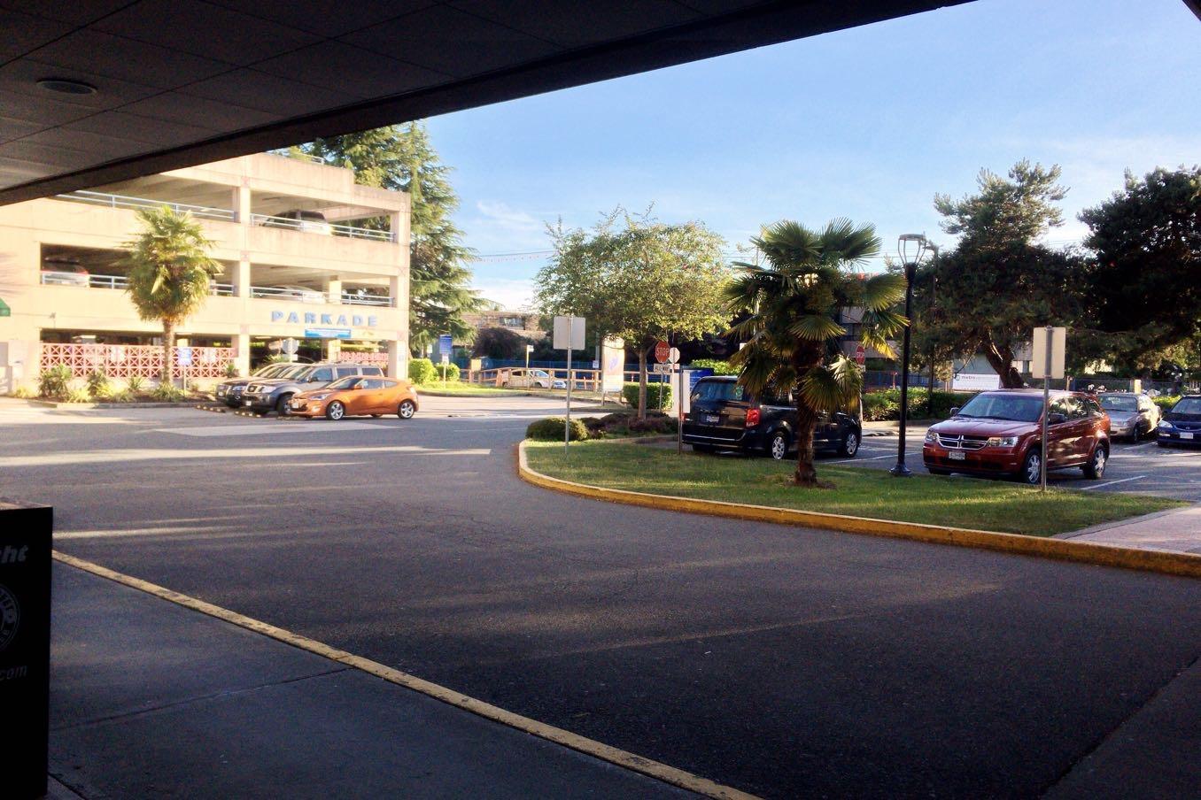 リッチモンド病院の「emergency」から見た景色